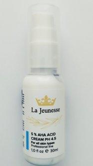 Крем с АНА кислотами 5% La Jeunesse (30мл). Cream with AHA acids 5%