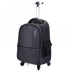 """Дорожный рюкзак на колесах, чемодан Arctic Hunter L00023, два отделения, карман для ноутбука 17"""", 40л"""