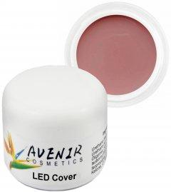 Гель для наращивания ногтей Avenir Cosmetics LED Cover 15 мл (5900308133095)
