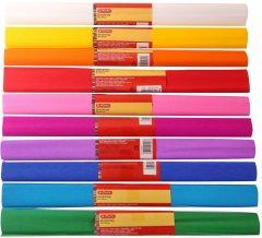 Набор крепированной бумаги Herlitz 50х250см 10 цветов 32 г (253000)