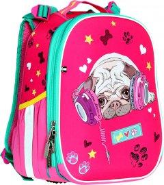 Ранец Class Puppy 35 х 27 х 16 см 14 л Розовый (2012C) (8591662001204)