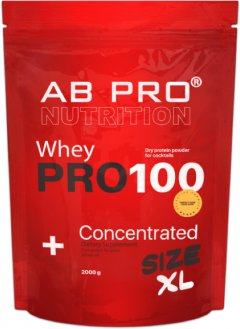Протеин AB PRO PRO 100 Whey Concentrated 2000 г Шоколад (PRO2000ABCH79)