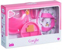 Игровой набор Corolle Детский Завтрак в сумке 6 аксессуаров для кукол 36-42 см (9000140320)