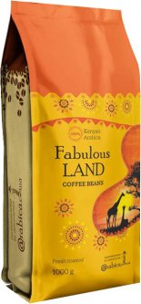 Кофе в зернах Arabica Specialty coffee Fabulous land Кения 1 кг (4820157910160)