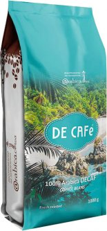 Кофе в зернах Arabica Specialty coffee De Café Колумбия декаф 1 кг (4820157910184)