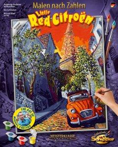 Художественный творческий набор Schipper Маленький красный Ситроен Мигеля Фрейтаса 40х50 см (9130820) (4000887918203)
