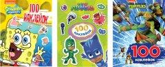 Комплект Перо Наклейки для супергероев 300 шт (121596)