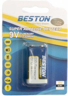 Батарейка Beston щелочная CR-9V 6LR61 Alkaline (AAB1845)
