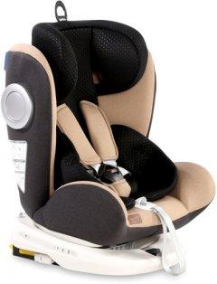 Автокресло Bertoni (Lorelli) Lusso Sps Isofix 0-36 кг Beige/Black (LUSSO beige/black)