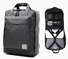 Дорожный рюкзак Tuguan 1718 черный с сумкой для обуви