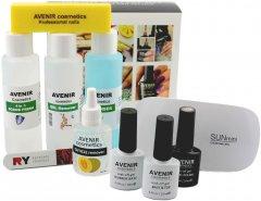 Стартовый набор Avenir Cosmetics для покрытия гель-лаком (4820440814236)