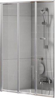 Шторка для ванны NEW TRENDY Trex P-0154 120 прозрачная
