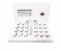 Профессиональный олегопептидный набор для восстановления кожи и защиты от фотостарения landaiyazi (12 ампул порошка + 12 ампул раствора)