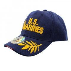 Бейсболка Han-Wild U.S.Marines Синий армейская с вышивкой мужская