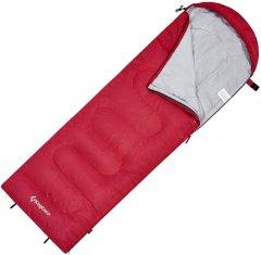 Спальный мешок KingCamp Oasis 250XL Right Crimson (KS3222_CRIMSON_R)