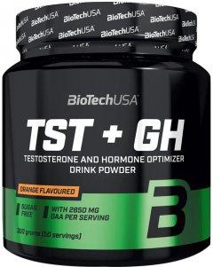 Стимулятор тестостерона Biotech TST+GH 300 г Апельсин (5999076231904)