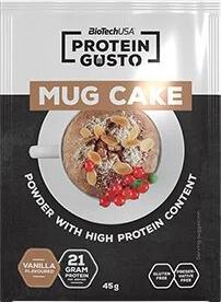 Заменитель питания Biotech Mug cake 45 г Ваниль (5999076222537)