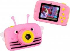 Цифровой детский фотоаппарат Atrix Tiktoker 1 Dual Cam 20MP 1080p pink (cdfatxtt1p)