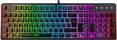Клавиатура проводная Xtrfy K4 RGB Kailh Red USB Black UKR RUS (XG-K4-RGB-R-UKR)