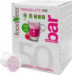 Кофейный капсульный напиток Foodness Латте Русалки с Питаей 50 капсул Dolce Gusto по 14 г (8031848006765)