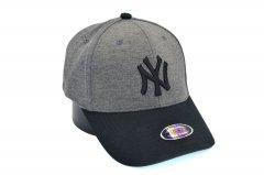 Кепка фулка Classic New York Yankees 55-59 см темно-серая (C 0919-319)