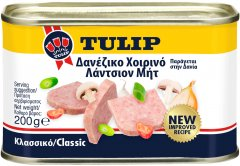 Свинина тушеная Tulip 200 г (5707196146394)