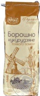 Мука кукурузная Август 1 кг (4820019601120)