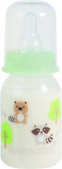 Бутылочка пластиковая Baby-Nova Декор 125 мл (4001071460096)