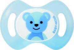 Пустышка Baby-Nova Newborn Голубая (4001071200104)