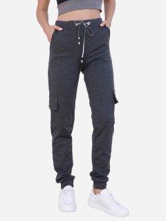 Спортивные штаны ISSA PLUS 9980 S Темно-серые (2000443535662)