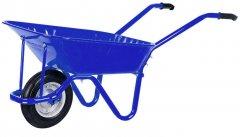 Тачка садовая/строительная 1-колесная Kanat Troyka TRD-471 80 л (150 кг) Blue (TRD-471)