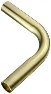 Труба поворотная угол 90 градусов для рейлинга Lemax Бронза (RAT-11 B ВА)