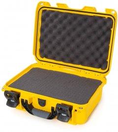 Водонепроницаемый пластиковый кейс Nanuk 915 с пеной Yellow (915-1004)