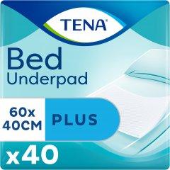 Одноразовые пеленки впитывающие Tena Bed Plus 40x60 см 40 шт (7322540728859)