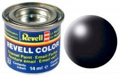 Краска эмалевая Revell Email Color №302 Черная шелковисто-матовая 14 мл (RVL-32302) (0000042023241)