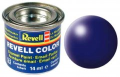 "Краска эмалевая Revell Email Color №350 Синяя ""Люфтганза"" шелковисто-матовая 14 мл (RVL-32350) (0000042023326)"