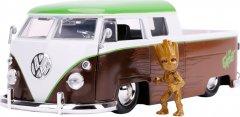 Машина металлическая Jada Марвел Стражи Галактики Volkswagen Pickup (1963) + фигурка Грута 1:24 (253225013) (4006333070433)