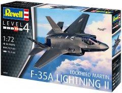 """Сборная модель Revell Истребитель-бомбаридовщик F-35 """"Молния II"""". Масштаб 1:72 (RVL-03868) (4009803038681)"""