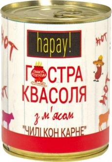 Острая фасоль с мясом hapay! Чили кон карне 340 г (4820184611177)