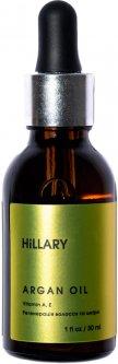 Марокканское аргановое масло Hillary Cold-Pressed Moroccan Argan Oil холодного отжима 30 мл (2311111100366)