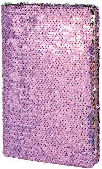 Блокнот с пайетками Maxi А5 80 листов линия (MX26276)