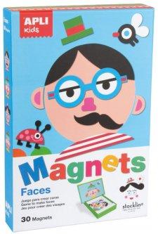 Игровой набор с магнитами Apli Kids Лицо (14561) (8410782145615)
