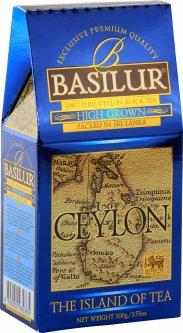 """Чай черный Basilur остров Цейлон """"Высокогорный"""" 100 г (4792252935365)"""