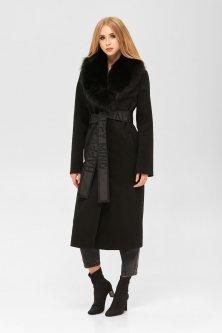 Пальто Mila Nova ПВ-192в 54 Черное (mila2000000052311)