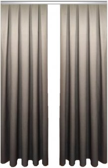 Комплект штор Декор-Ин Градиент Темно-серый/Светло-серый 275х300 2 шт (Vi 100207) (ROZ6400050402)