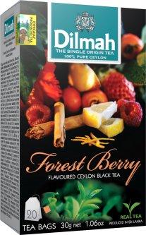 Чай черный пакетированный Dilmah Лесные ягоды 1.5 г х 20 шт (9312631149159)