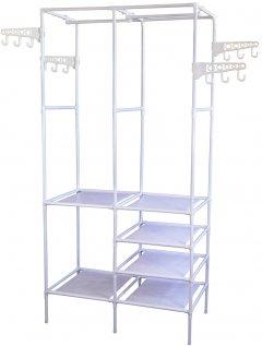 Напольная вешалка Supretto для одежды 174х86х44 см Белая (5738-0001)
