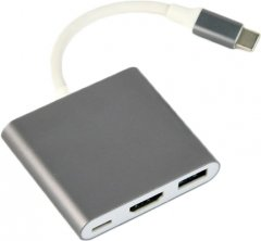 Адаптер-переходник Cablexpert A-CM-HDMIF-02-SG