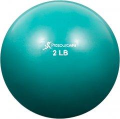 Мяч утяжеленный ProSource Toning Ball 0.9 кг Зеленый (ps-2222-smb-2lb)