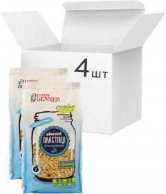 Упаковка хлопьев Doctor Benner Овсяных цельнозерновых 400 г х 4 шт (20132580470)